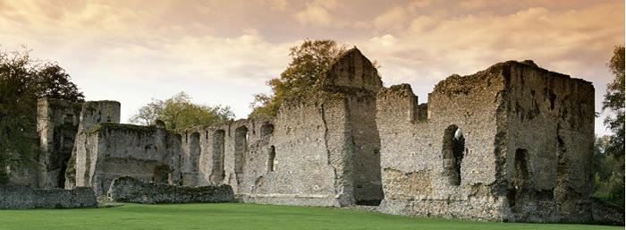 Bishop's Waltham Palace. Copyright: English Heritage
