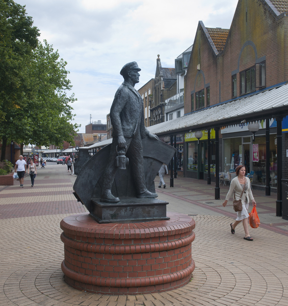 Eastleigh town centre. Copyright: Eastleigh Borough Council