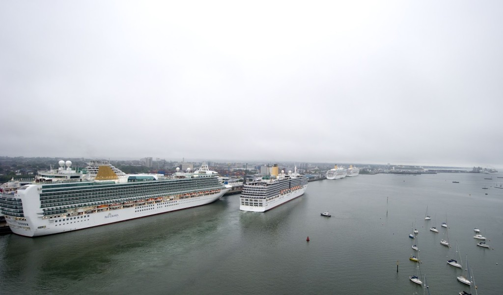 Southampton Docks. Copyright: P&O Cruises