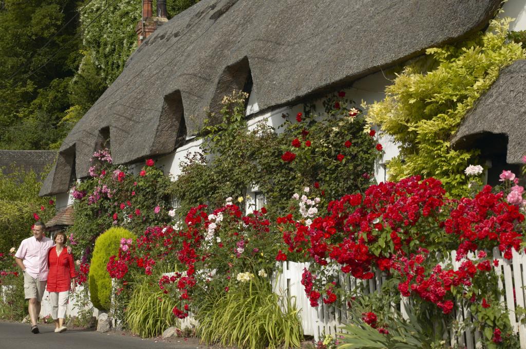 Wherwell village